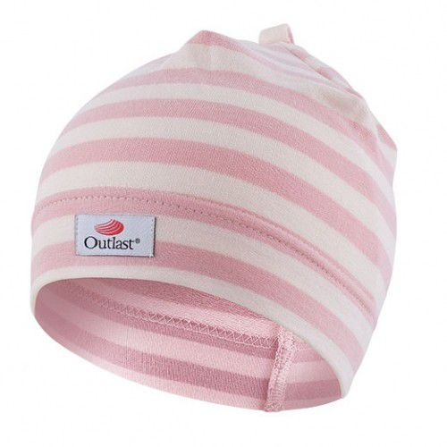 VZOR Čepice natahovací Outlast ®, růžový proužek Little Angel