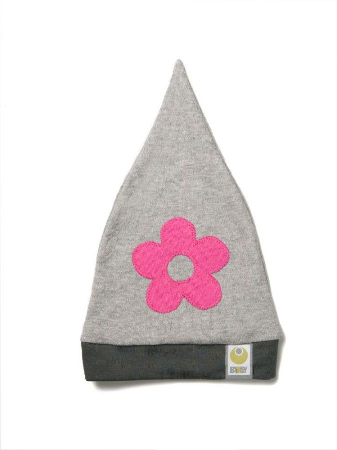 čepička bykay design, růžová květina