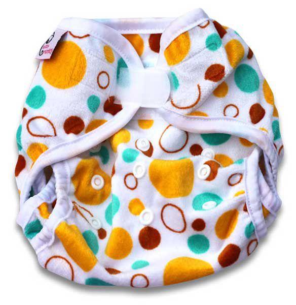 PUL kalhotky Sweet Monkey žluté bubliny