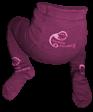 Bambusové punčocháče Sweet Monkey, fialové
