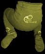 Bambusové punčocháče Sweet Monkey, zelené