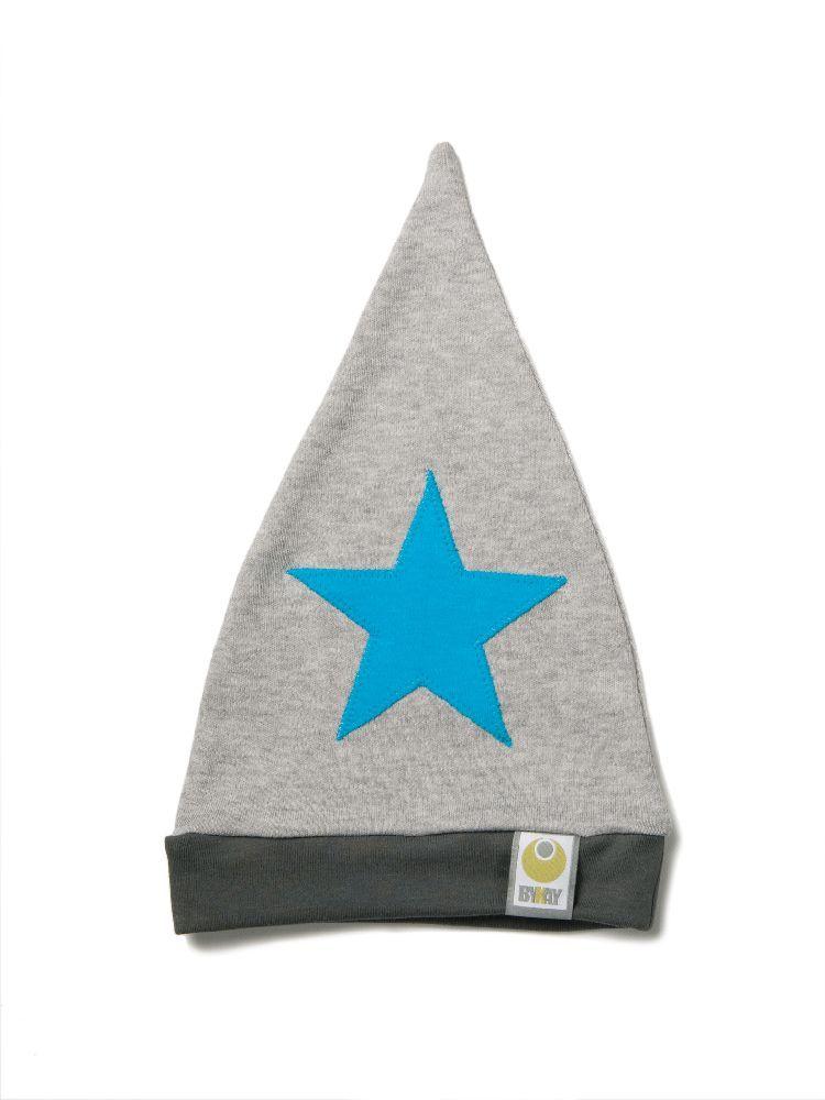 Čepička ByKay Design, Melé + hvězda tyrkysová