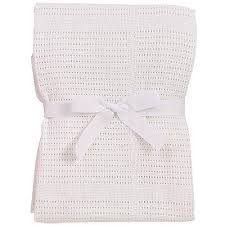 Baby Dan háčkovaná deka bílá