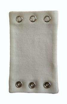 Extendor body bavlna 3 ks Bílá / krémová