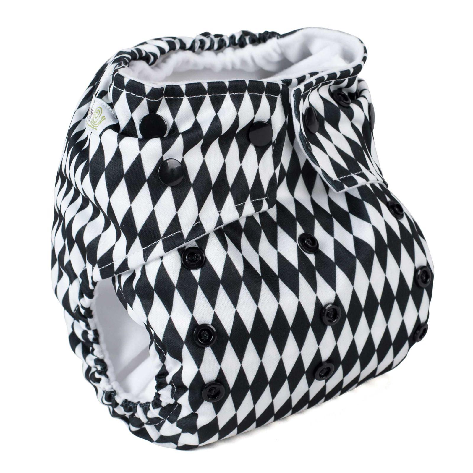 Baba+Boo plenkové kalhotky V2, Design Harlequin