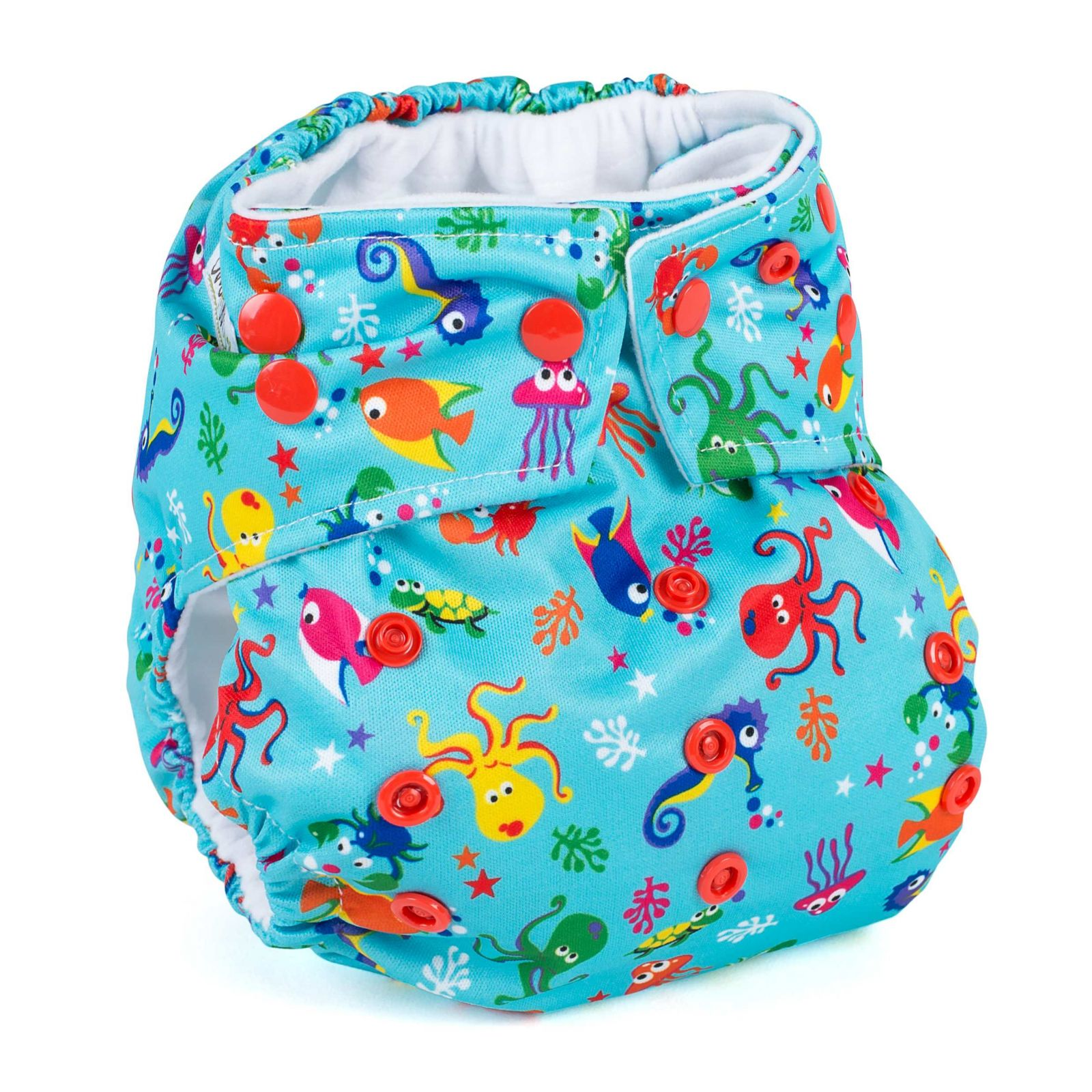 Baba+Boo plenkové kalhotky V2, Design Deap Sea