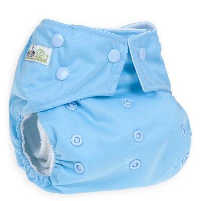 Baba+Boo plenkové kalhotky V2, Colour Duckegg Blue