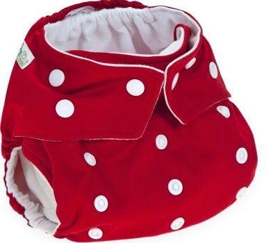 Baba+Boo plenkové kalhotky V2, Colour Red
