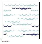 Aden + Anais Classic mušelínová zavinovačka, pro kluka, 1ks High season - Waves