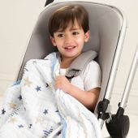 Aden + Anais classic buggy blanket, Rock Star