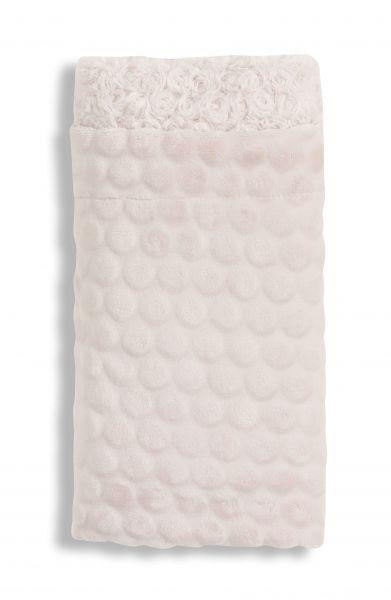 INTERBABY deka RŮŽIČKY - růžová