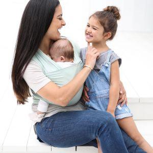 ERGOBABY AURA WRAP - šátek na nošení dětí SAGE