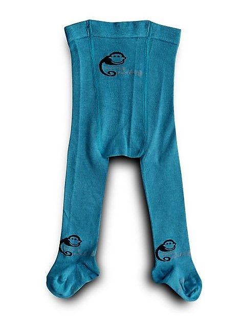 Bambusové punčocháče Sweet Monkey, modré