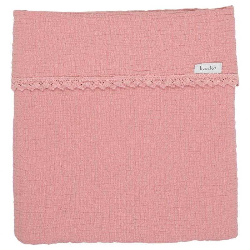 Koeka Deka Elba Lace 75x100 - old pink