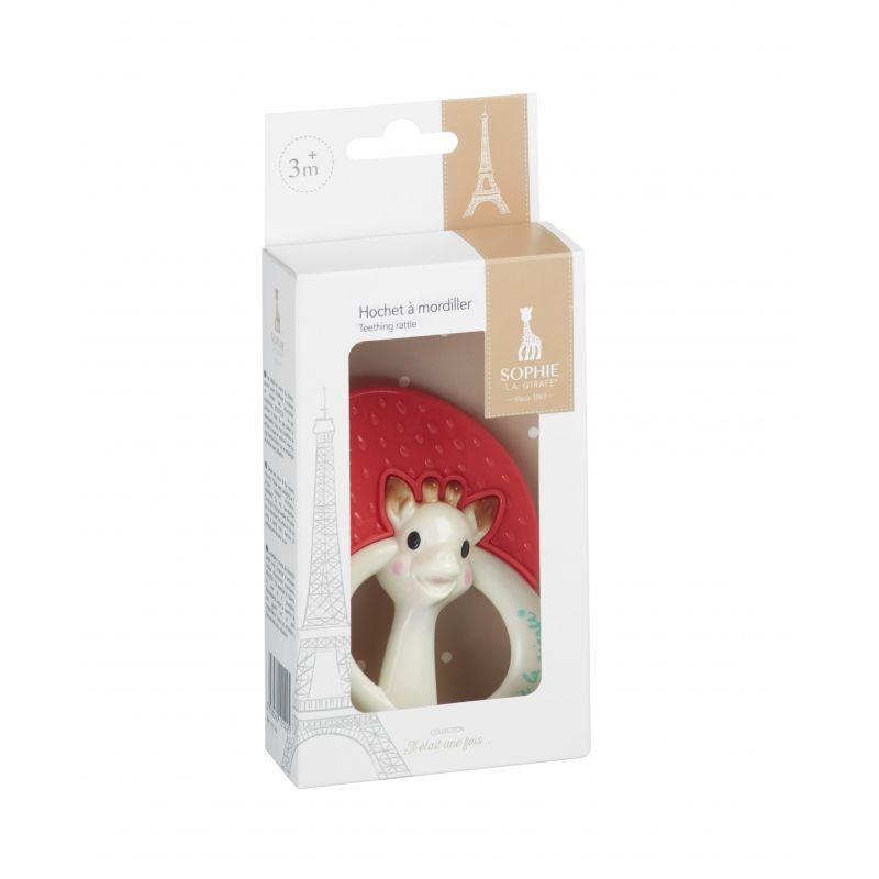 Vulli Kousací chrastítko žirafa Sophie v dárkové krabičce