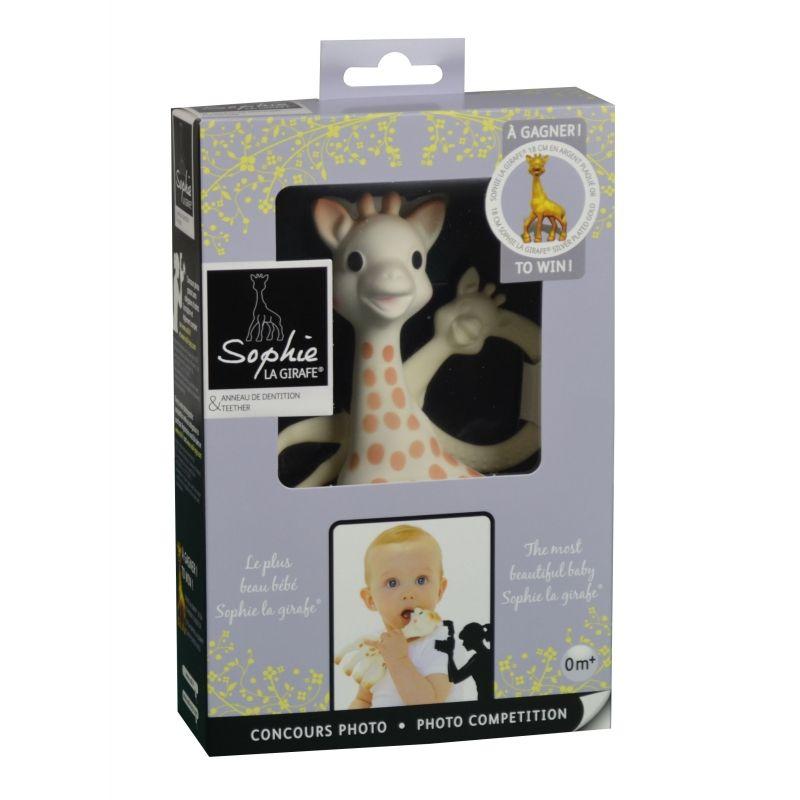 Vulli Set žirafa Sophie + plyšová žirafka Sophie Chérie