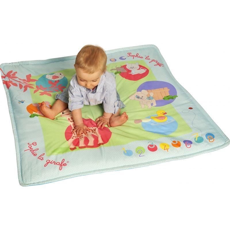 Zobrazit větší  Vulli Interaktivní hrací dotyková podložka žirafa Sophie Vulli Interaktivní hrací d