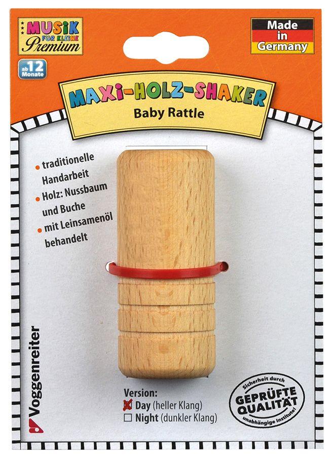 Musik für Kleine dřevěné chrastítko MAXI, světlé