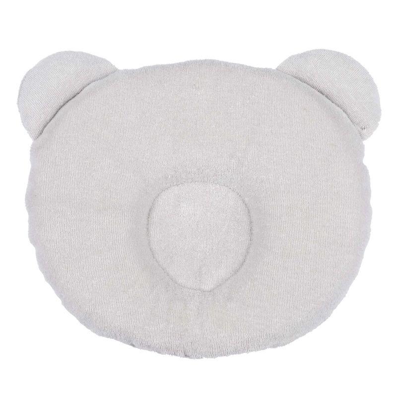 Candide polštářek Panda světle šedý
