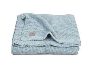 Jollein Deka 75x100 Confetti knit Stone green