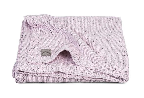 Jollein Deka 75x100 Confetti knit Vintage pink