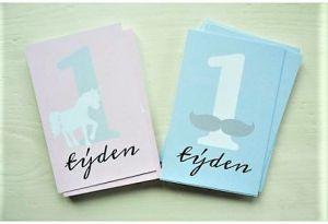Milníkové kartičky pro holčičku růžové 25 ks