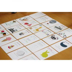 Milníkové kartičky pokračovací Unisex 24 ks
