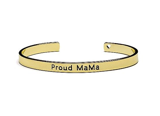 Proud MaMa náramek Bangle zlatý