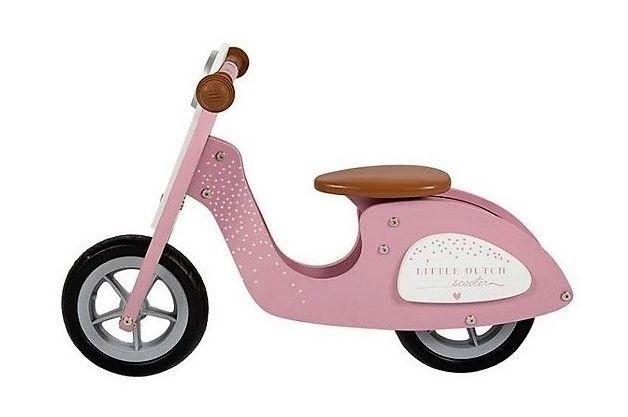 TIAMO Little Dutch Skůtr Pink
