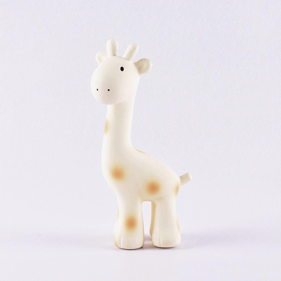 Tikiri ZOO – chrastítko a kousátko z přírodní gumy, Žirafka