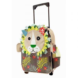 Deglingos cestovní kufřík  lvíčkos JELEKROS  ,šedý