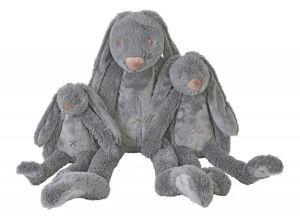 Happy Horse - králíček Richie BIG tmavě šedý