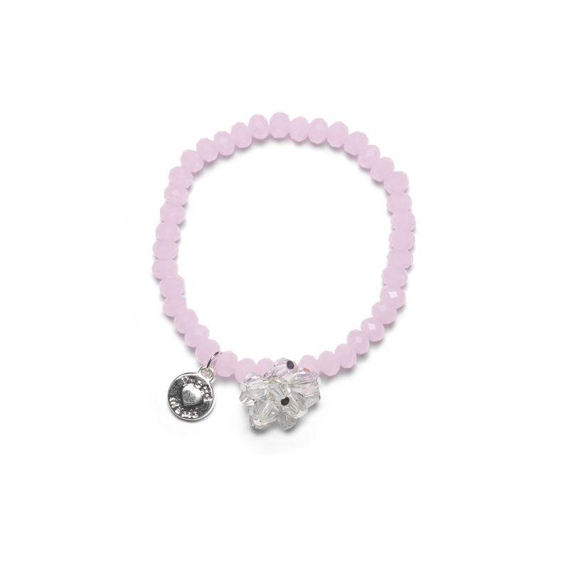 Proud MaMa náramek  Charm růžový Beads