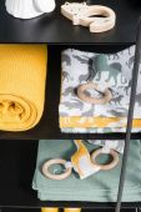 Jollein hrací deka Safari,Stone Grey