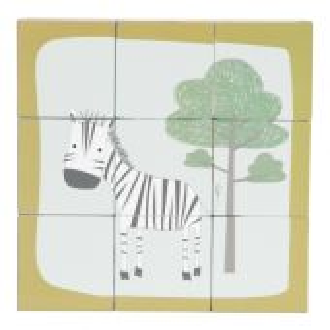 TIAMO Little Dutch kostky skládací obrázky - zebra