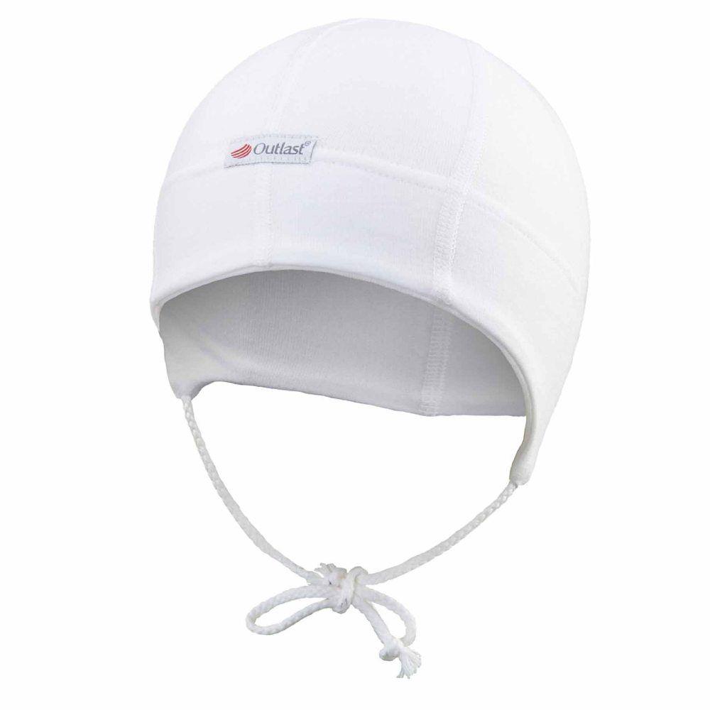 Čepice smyk BABY zavazovací®, Bílá