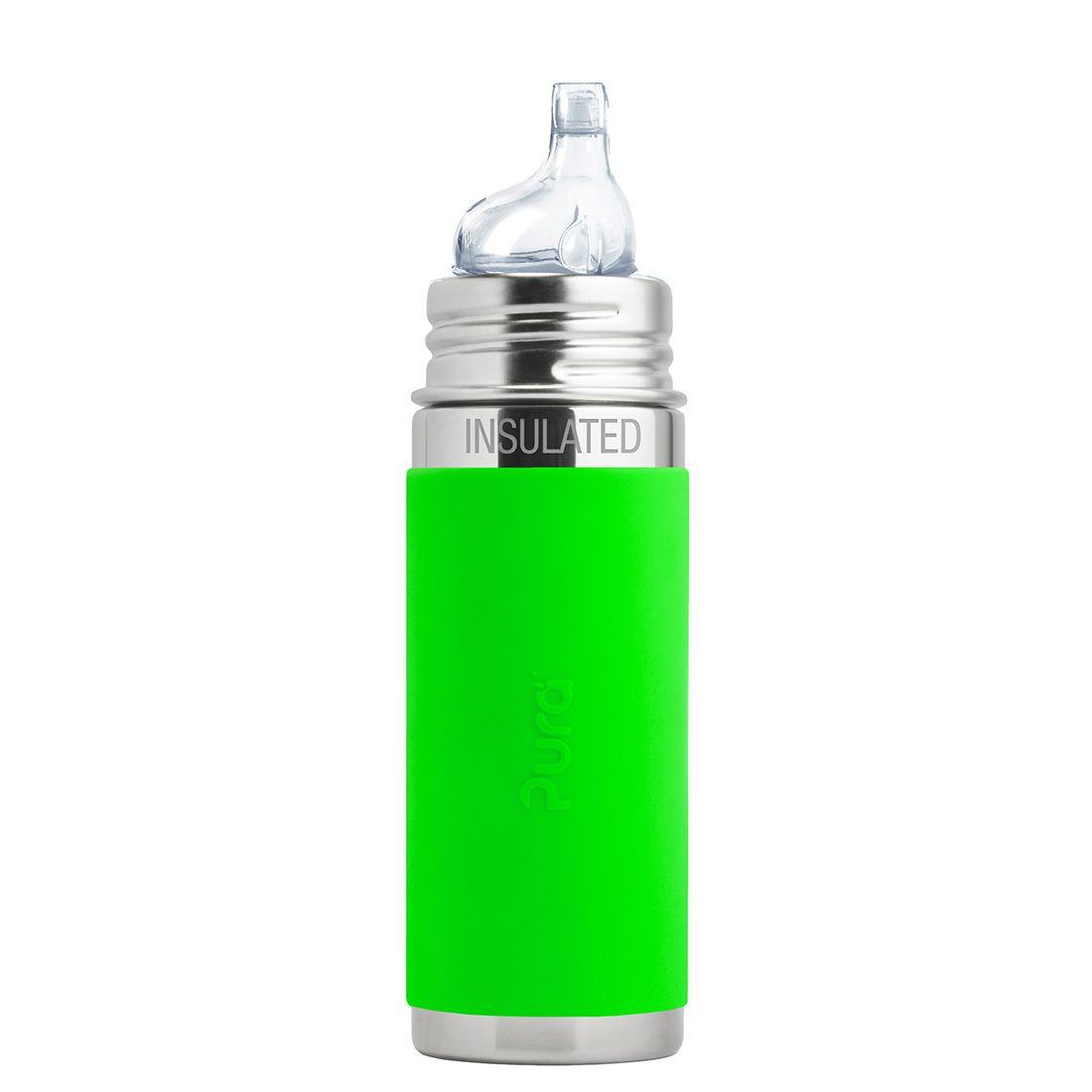Pura® TERMO láhev s náustkem 260ml ZELENÁ