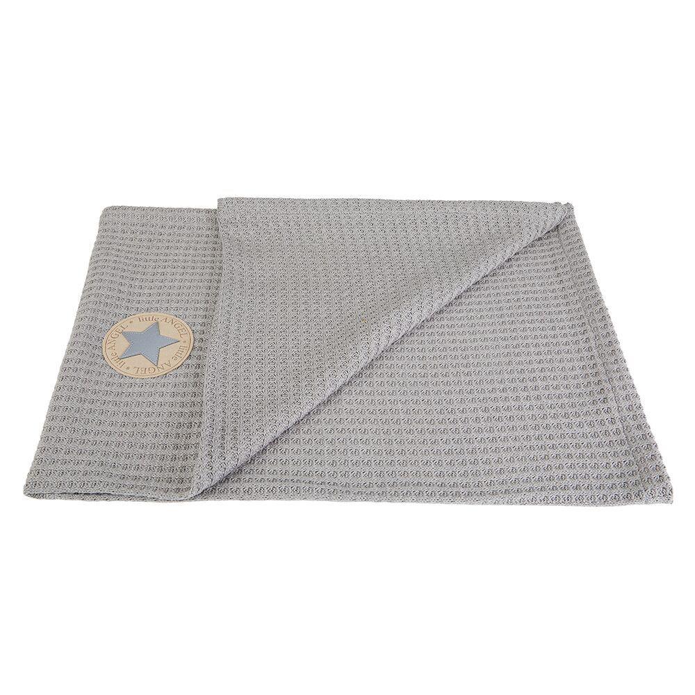 Angel deka vafle - sv.šedá