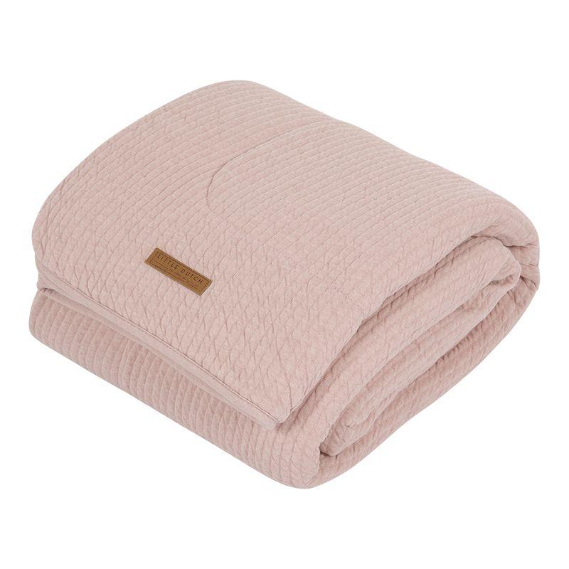 Little Dutch přikrývka Soft Pure Pink