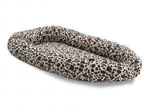 JOLLEIN hnízdečko pro miminko Leopard natural