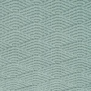 Jollein Deka 75x100cm River knit ash green/coral fleece