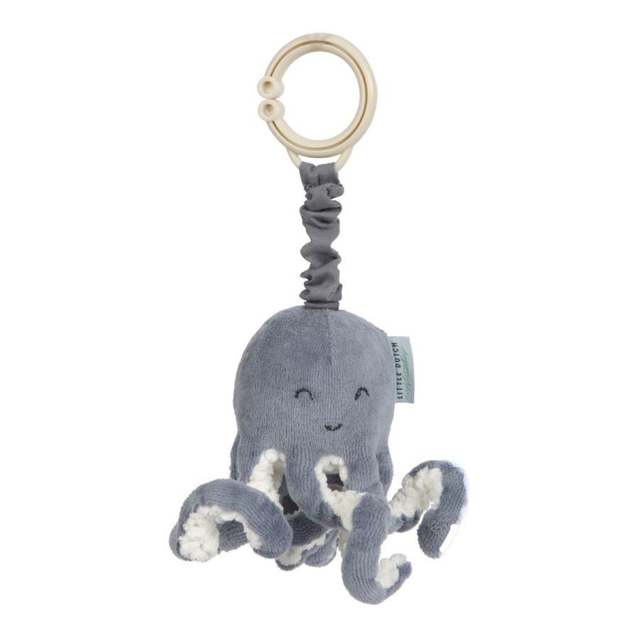 LITTLE DUTCH Ocean vibrační chobotnice Blue TIAMO-LITTLE DUTCH