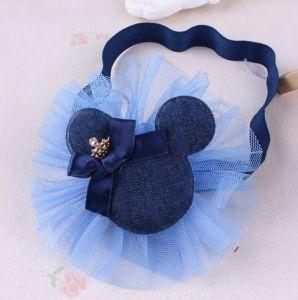 Čelenka do vlásků Mickey tmavě modrá