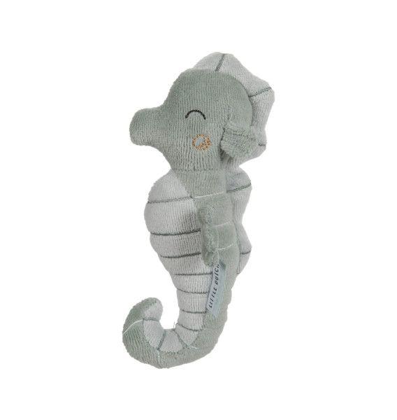 LITTLE DUTCH Ocean Chrastící mořský koník Mint