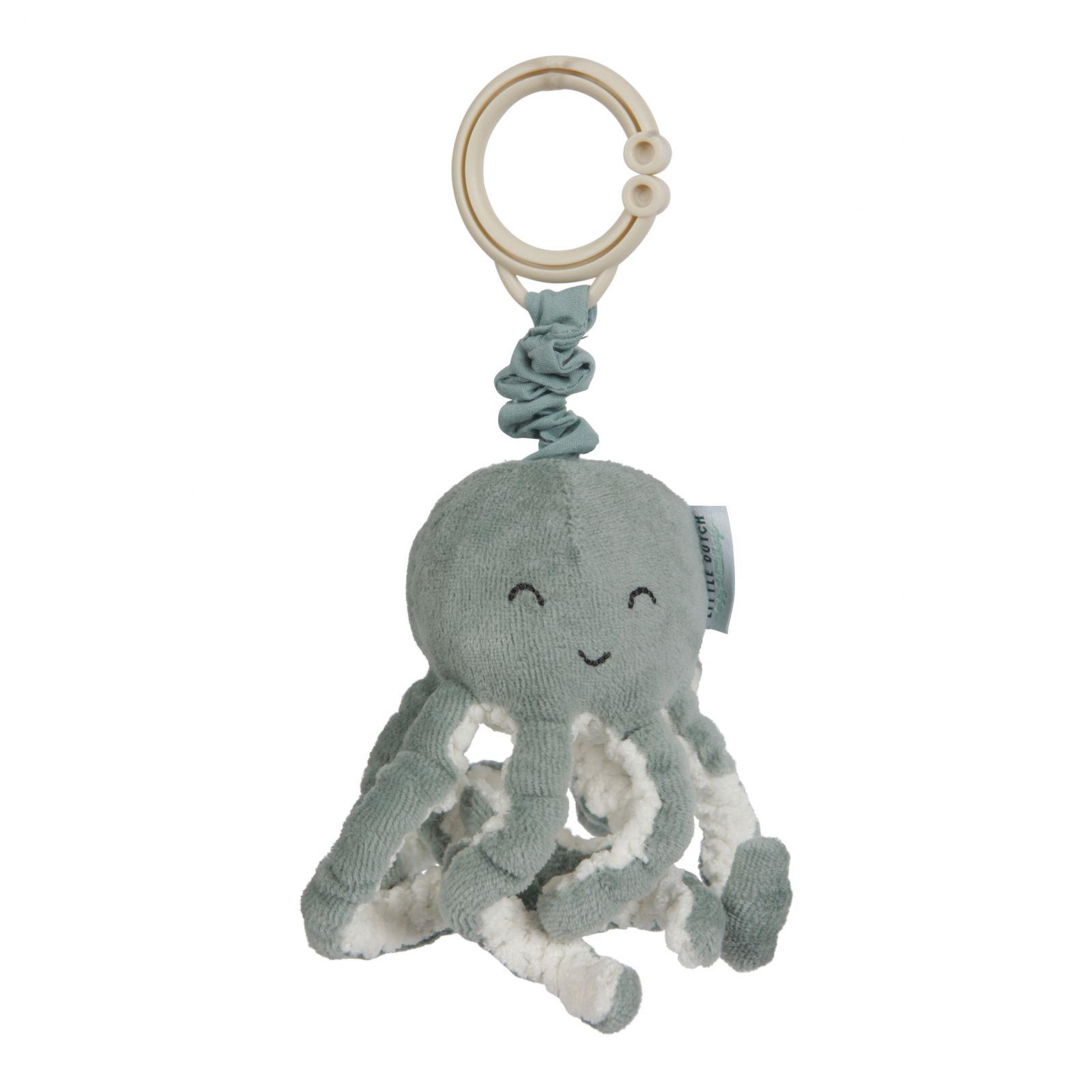 LITTLE DUTCH Ocean vibrační chobotnice Mint