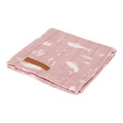 Little Dutch Swaddle 120x120 Ocean Pink
