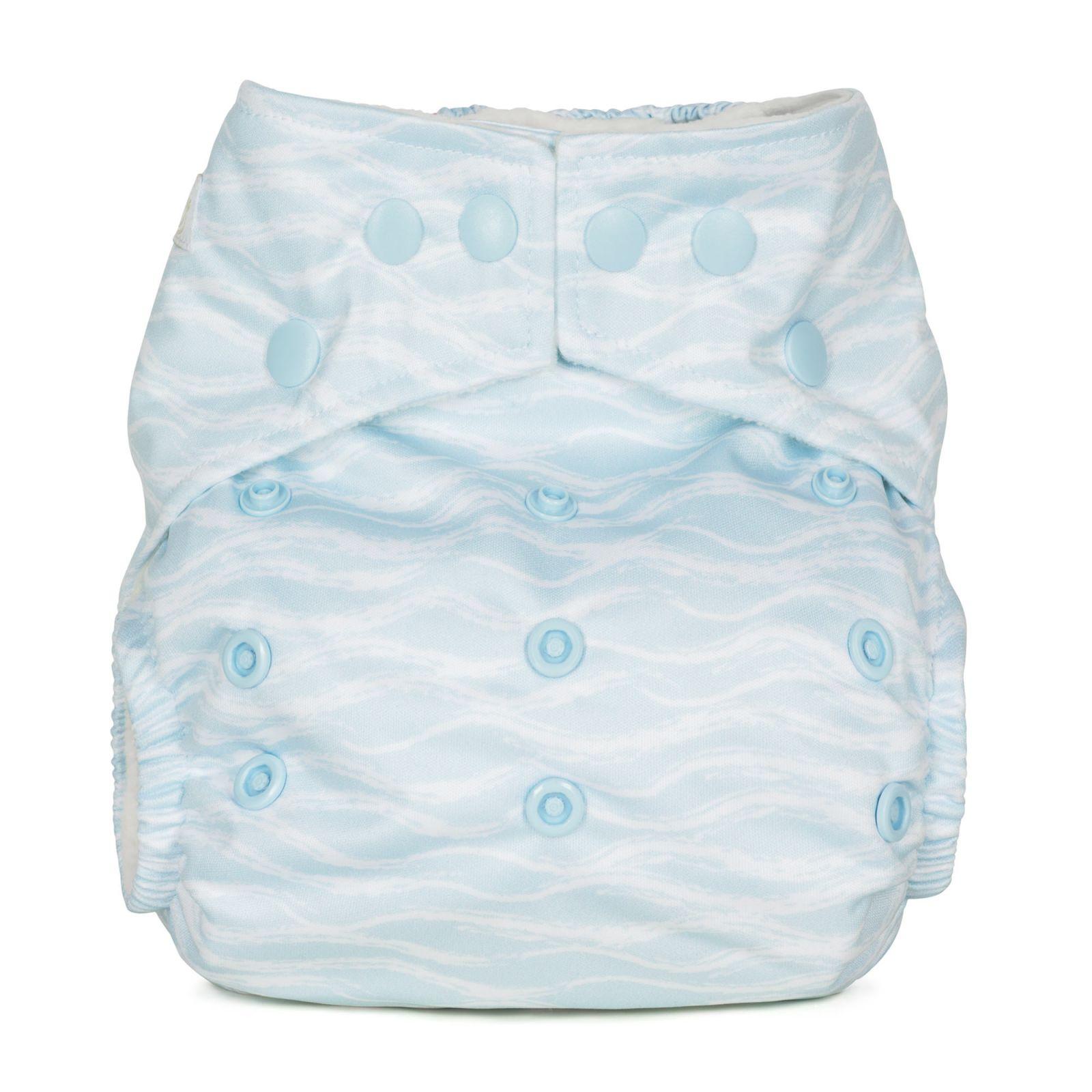 BabaBoo plenkové kalhotky AIO kapsové, WAVES