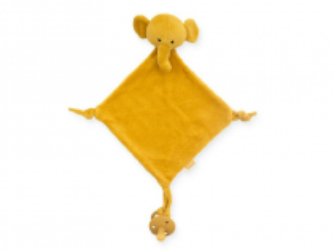 Jollein muchláček Slon Mustard