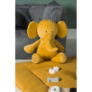 JOLLEIN Plyšový slon Mustard