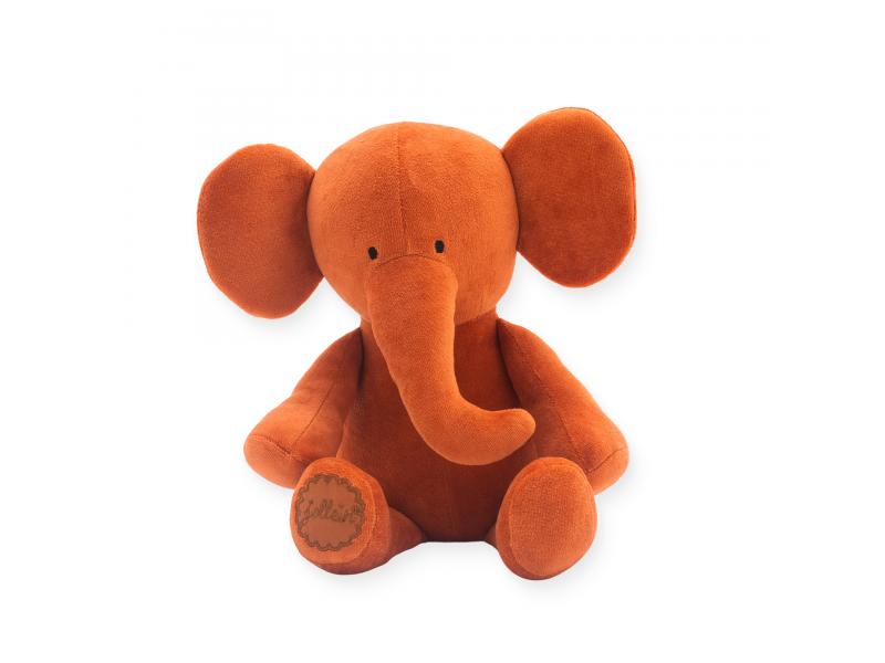 JOLLEIN Plyšový slon Rust